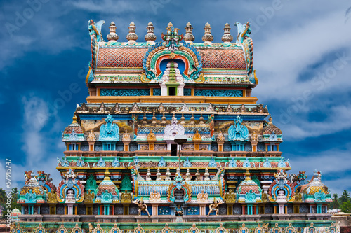 Fotoposter Temple Sri Ranganathaswamy Temple. India