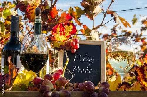 Fotografía  Weinprobe im Herbst