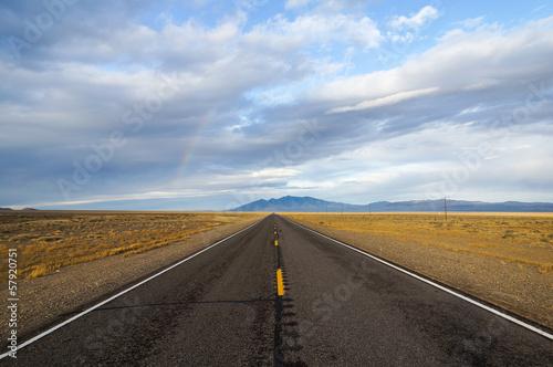Fotografia, Obraz  Regenbogen in der Wüste