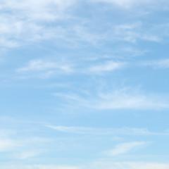 Fototapeta light clouds in the blue sky