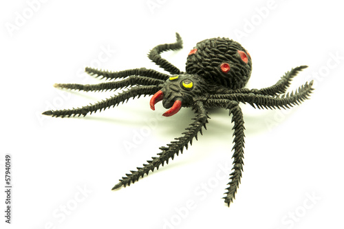 Fotobehang Draw toy spider