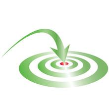 Green Target Green Arrow Re Center