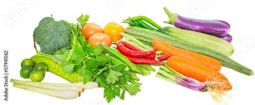 Papiers peints Légumes frais Vegetables variety
