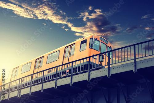 Obraz Metro - fototapety do salonu