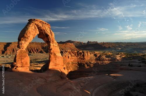 Poster de jardin Parc Naturel Delicate arch in Arches National Park