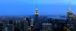 New York Manhattan and Empire State Building night scene