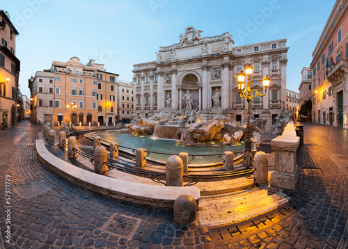 Foto op Aluminium Rome Fontaine de Trevi, Rome, Italie