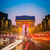 Fototapeta Paryż - Arc de Triomphe, Paris