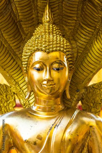 golden buddha   wat Phra That Doi Suthep,.chiangmai ,Thailand