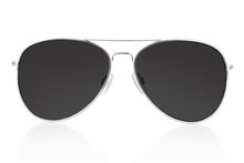 Sunglasses Isolated On White, ...