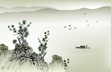 FototapetaChinese painting
