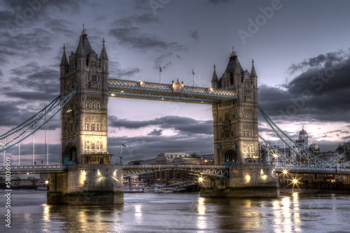 Tower Bridge HDR Image
