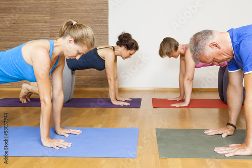 Foto  Yoga Exercise