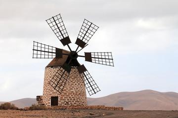 Zalazak sunca Moulin de Tefia (Fuerteventura - Španjolska)