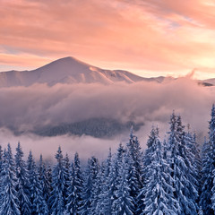 Panel Szklany Góry mountain