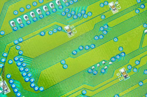 Fotografie, Obraz  Electronic circuit board
