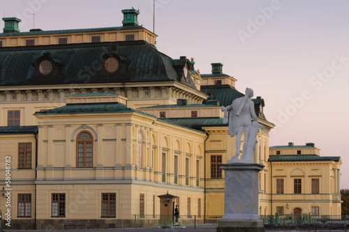 Drottningholms slott outside of Stockholm, Sweden Canvas Print