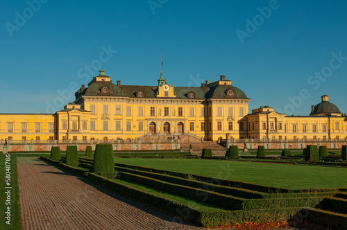 Photo  Drottningholms slott  outside of Stockholm, Sweden  Stock Photo: