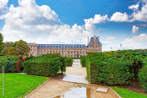 Staande foto Praag Park des Tuileries .Paris, France