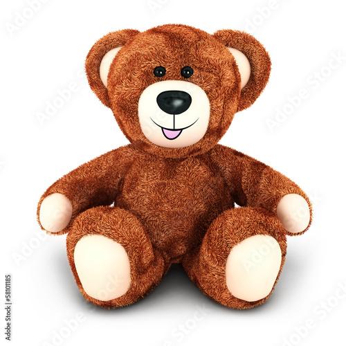 3d teddy bear #58101185