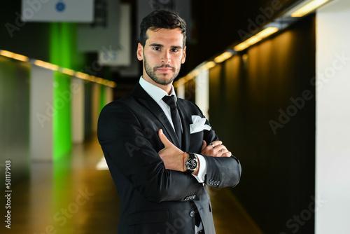 Fotografia  Successful businessman serious