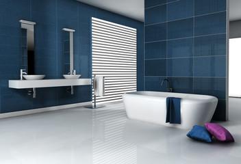 Fototapeta na wymiar Contemporary Bathroom