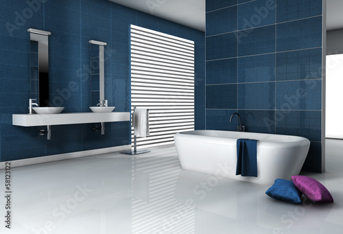 Fotografia, Obraz  Contemporary Bathroom