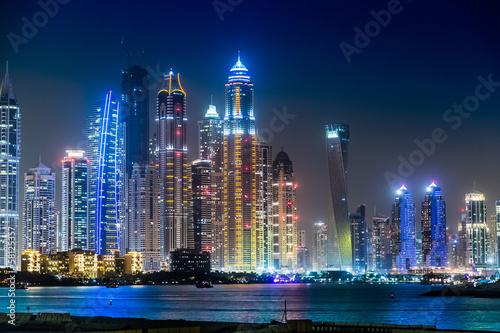 Foto op Aluminium Toronto Dubai Marina cityscape, UAE