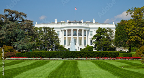Fotografie, Obraz White House, Washington D.C.