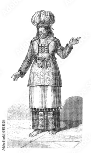 Valokuvatapetti Antiquity : Jew High Priest