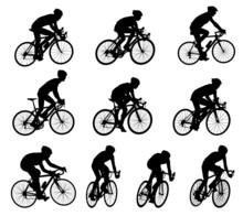 10 High Quality Race Bicyclist...