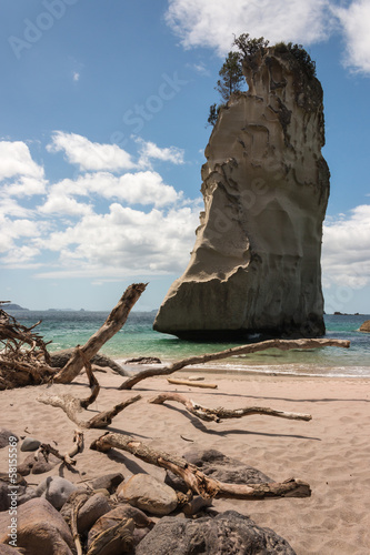 Foto op Canvas Cathedral Cove Te Hoho Rock at Cathedral Cove