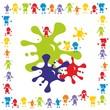 Kinder ~ Kids ~ Children in Aktion - Malen