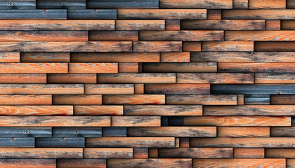 interesting design for wooden wall