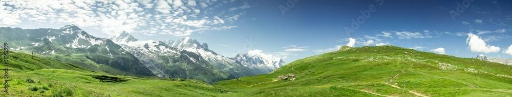 Fototapeta Panorama Mont-Blanc