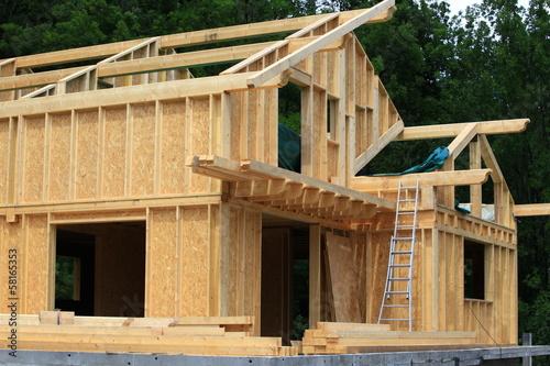 Valokuva  construction bois