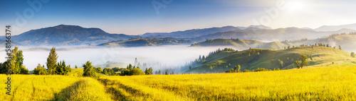 Photo Stands Melon mountains landscape