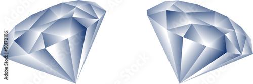 dwa diamenty