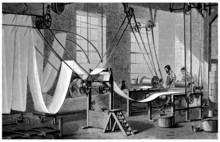 Worker - Wallpaper Machine - 19th Century
