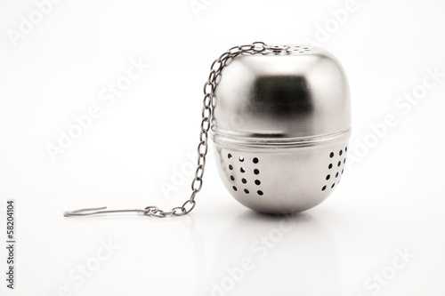 Fotografia, Obraz  Stainless Steel Tea Infuser