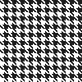 Bezszwowy czarny i biały houndstoothpattern. - 58221732