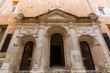 Menorca Ciutadella historical downtown facades