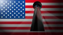 NWO Usa Flag *** Eye-spy