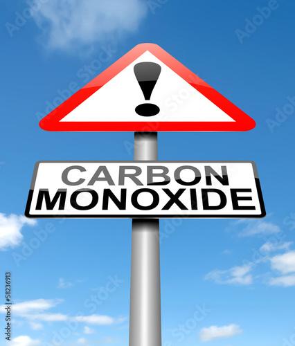 Valokuva Carbon Monoxide concept.