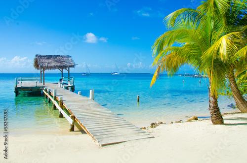 Foto op Plexiglas Caraïben Island Paradise Destination