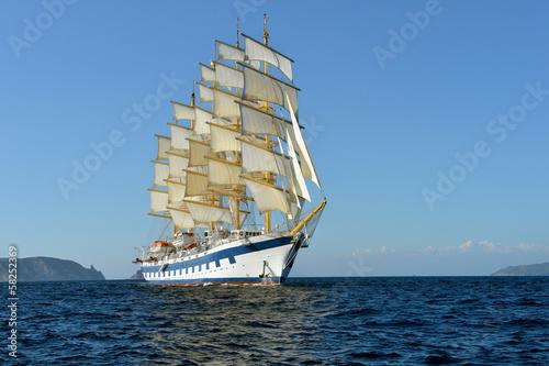 Sailing ship.  series of ships and yachts © Alvov