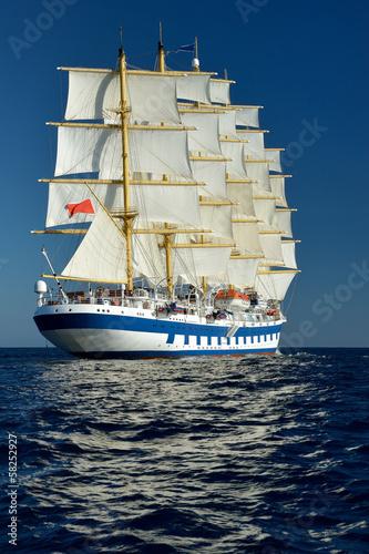 Sailing ship. Series sailboats world - 58252927