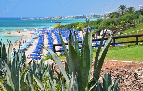 Foto op Canvas Cyprus Beach in Ayia Napa, Cyprus
