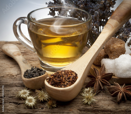Fototapeta premium Herbata