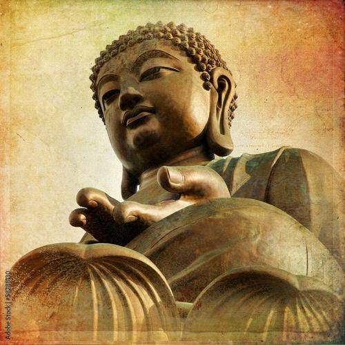 Fotografia  The Great Buddha of Po Lin Monastery - Hong Kong